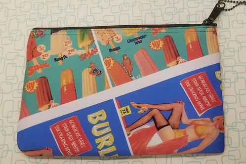Burlesk Girl, Holiday Motel Clutch Bag