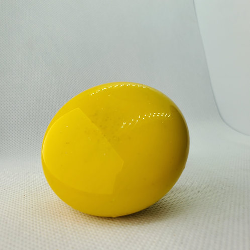 Yellow Retro Mushroom Floor Shift Knob