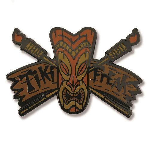 Tiki Freak Enamel Pin