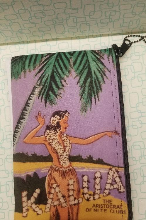 Kalua Hula Girl Clutch Bag
