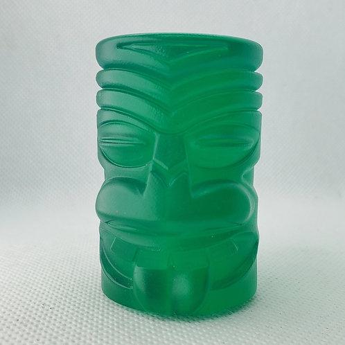 Green Tiki Head Shift Knob