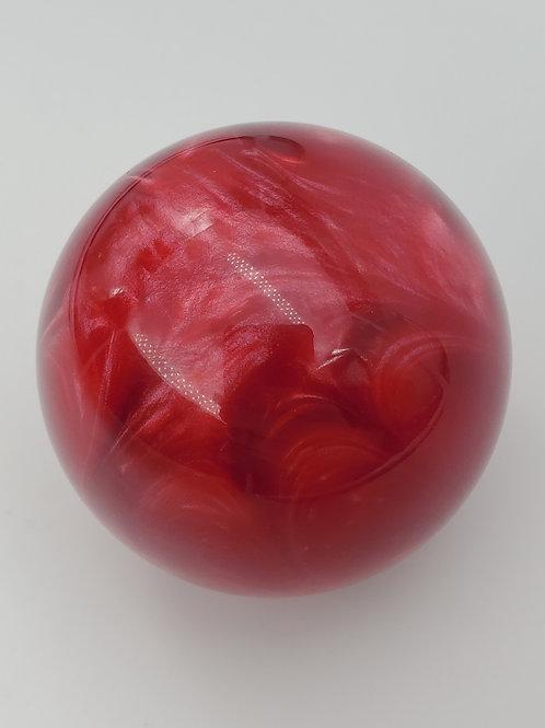 Ruby Red Pearl Shimmer Swirl Floor Shift