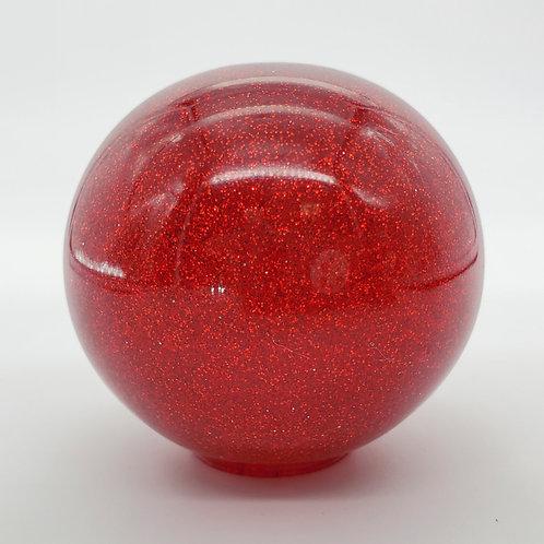 Retro Red Metal Flake Shift Ball