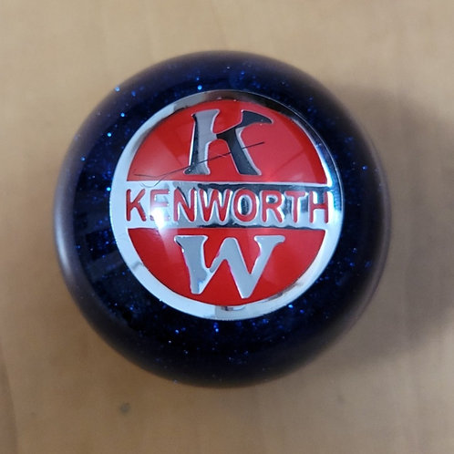 Perfectly Imperfect Blue Flake Floor Shift Ball KW