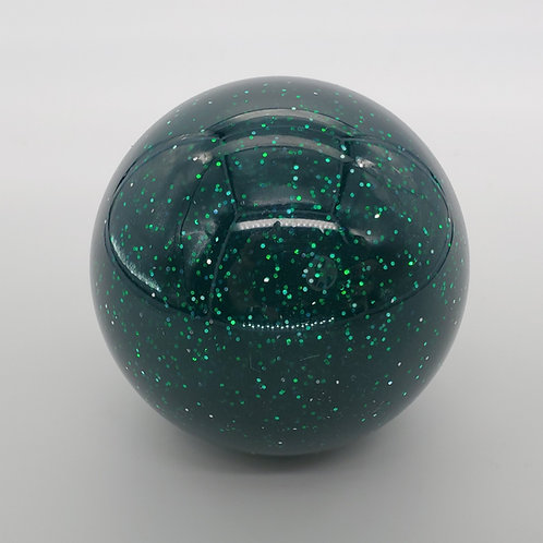 Retro Green with Silver Metal Flake Shift Ball
