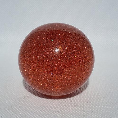 Orange Sunrise Prism Metal Flake Flake Floor Shift