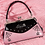 Thumbnail: Sourpuss Webbed Widow Purse Pink/Black