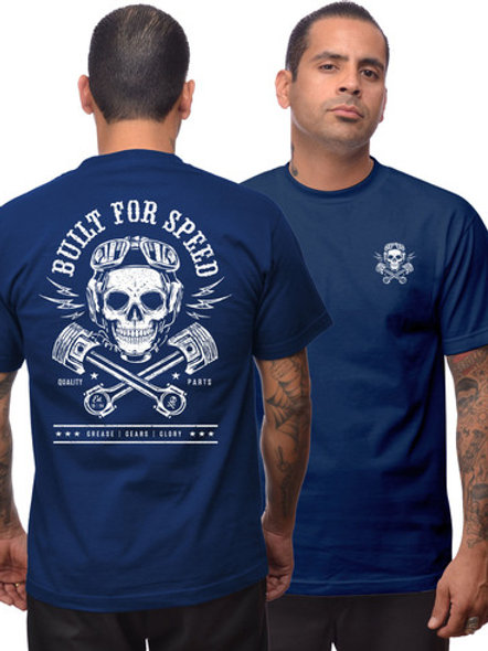 Built For Speed Mens Tshirt