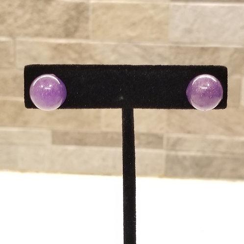 Shimmer Pinup Dot Stud Earrings