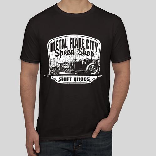 Metal Flake City Speed Shop Shirt