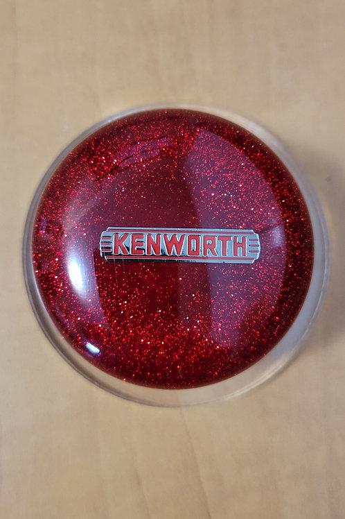 Red Flake Mushroom Kenworth Shift Knob
