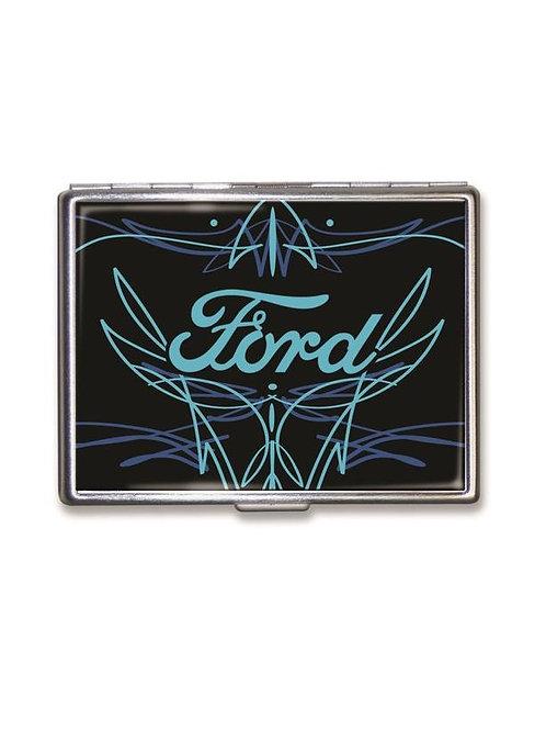 Ford Pinstripe Logo Cigarette/ID Case
