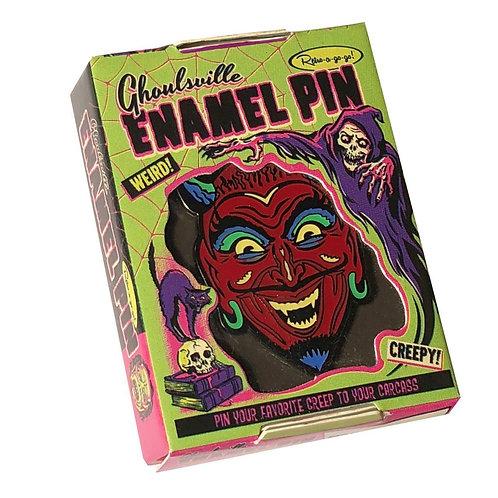 Fun House Devil Enamel Pin