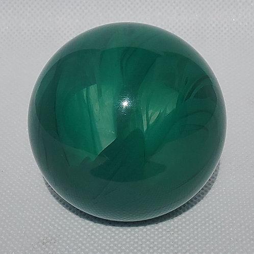 Green & Clear Swirl Floor Shift Knob