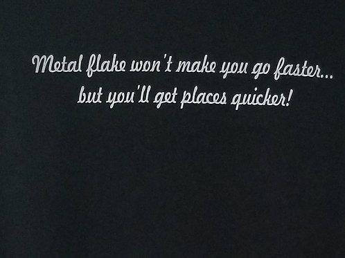 Metal Flake City Mens Tee