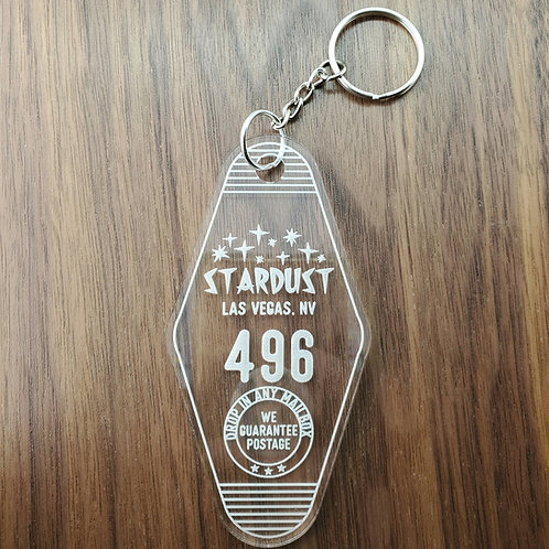 Stardust Vintage Motel Keychain