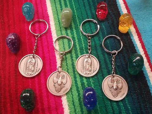 Guadalupe / Holy Spirit Keychain