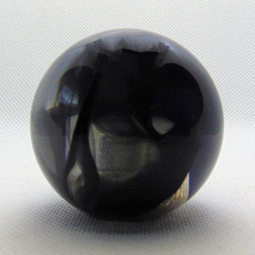 Black and Clear Retro Ball Shift Knob