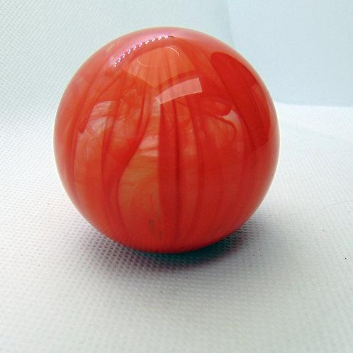Orange and Clear Retro Ball Shift Knob