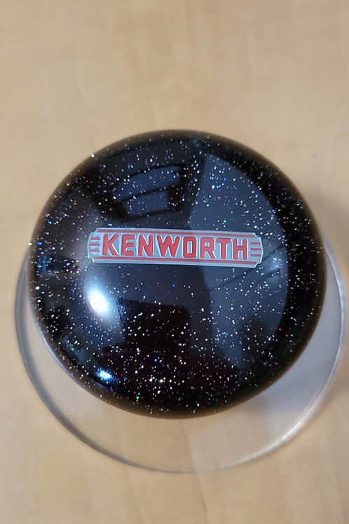 Black Prism Flake Mushroom Kenworth Shift Knob