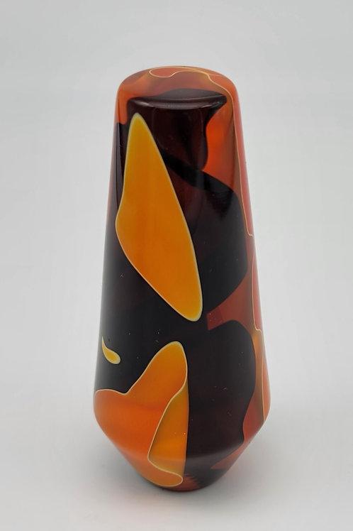Orange and Black Retro Cone Column Shift Knob