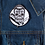 Thumbnail: Kustom Kreeps Dapper Skull Patch