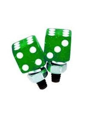 Green Metal Flake Tag Bolts