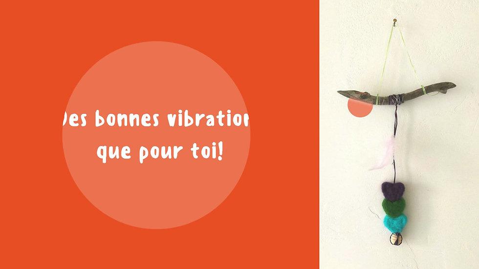 Good vibes! parfum vibratoire et suspension artisanale