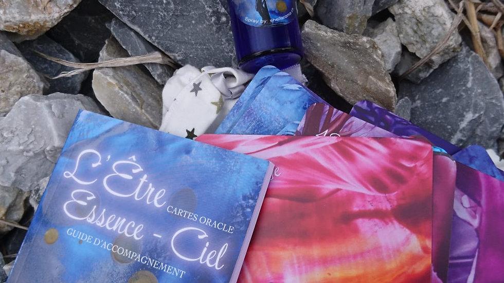 L'Etre Essence - Ciel carte oracles et spray aurique