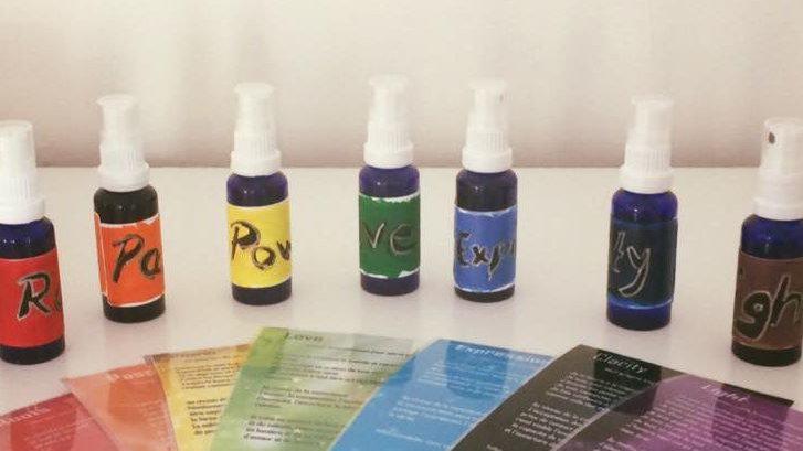 7 sprays auriques et cartes associées