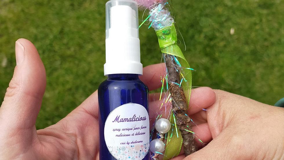 Mamalicious le parfum & baguette magique