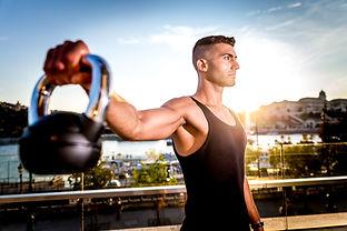 marriott fittness advertising photo