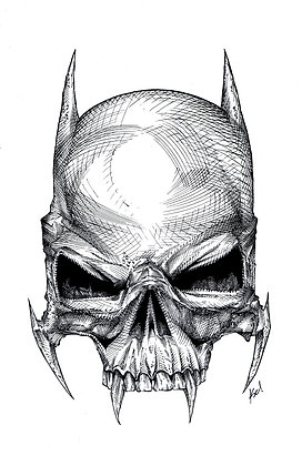 Skull design for Absolute Comics