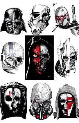 Sith Skull set