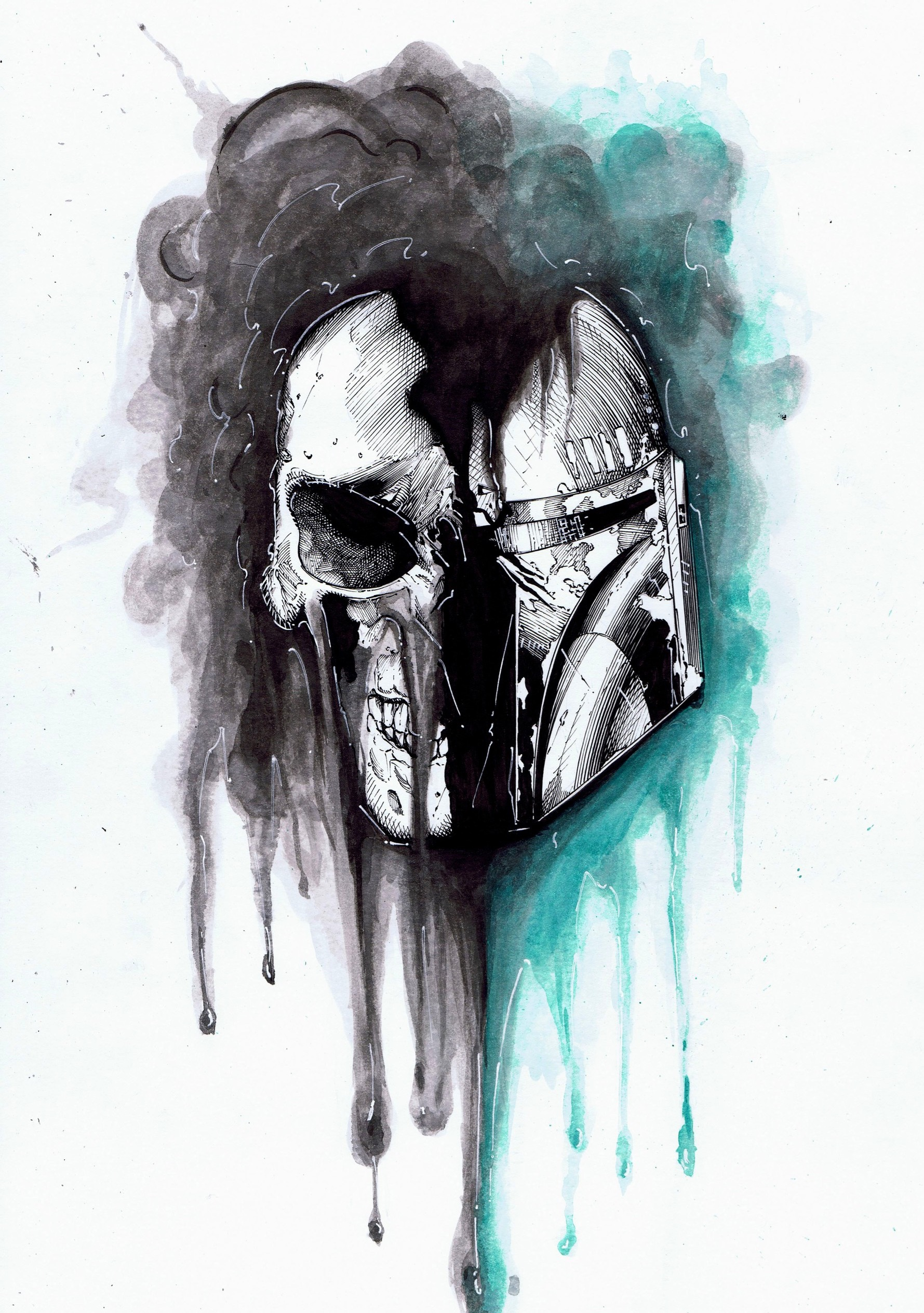 Boba Fett Skull 1