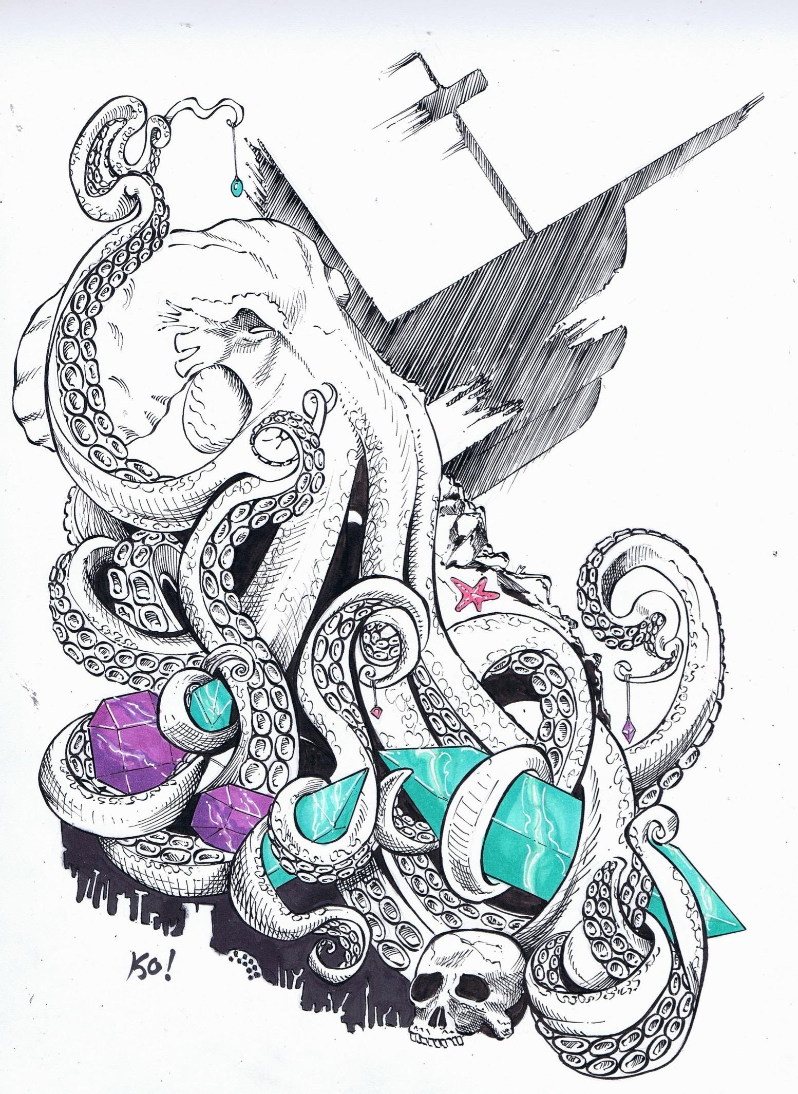 Octopus gems