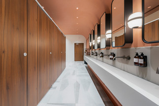 bathrom in corporate office photography nottingham