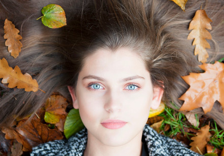 Young model in leaves