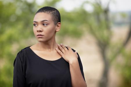 headshot of black actress