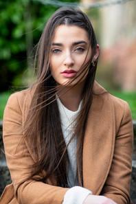 Outdoor portraitof lincoln model