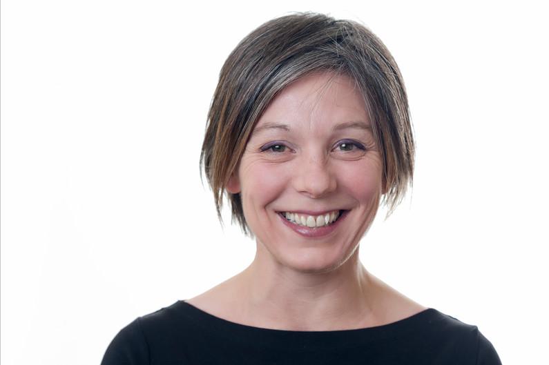 Female nottingham commercial headshot photography on white background