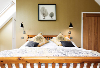 nottingham Property photography of bedroom with dark walls