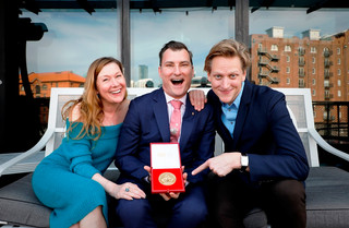 David McAllister awarded the RAD's Queen Elizabeth II Coronation Award