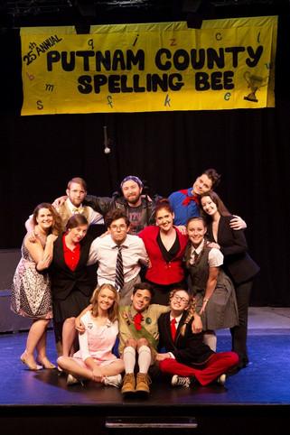 Fun at Putnam's spelling bee