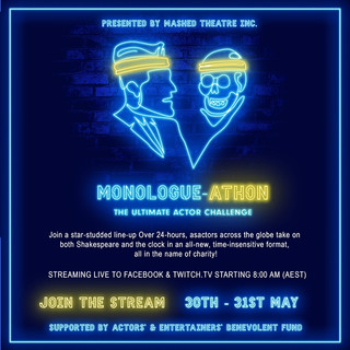 Charity monologue-athon pitting performers against the clock
