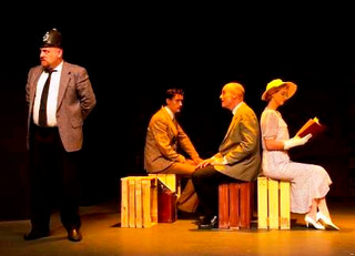 Review: Arts Theatre's The 39 Steps