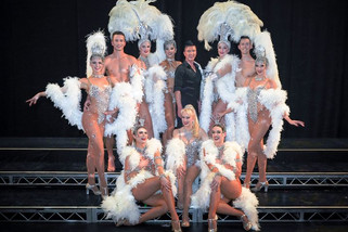 Parisian cabaret stars on stage at QPAC