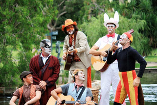 Sydney's outdoor production of The Wind In The Willows