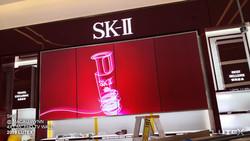 SK-II Macau Wynn_4X1 55inch FHD TV WALL.