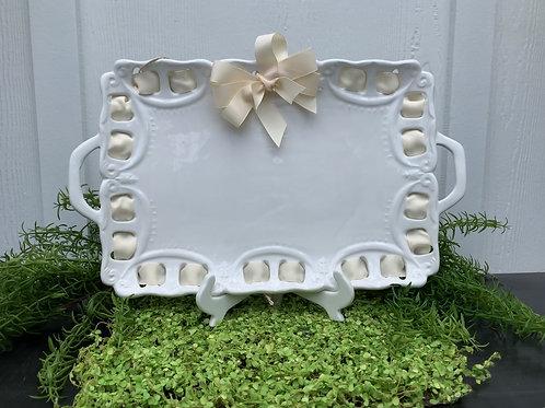 Petite Ivory Platter